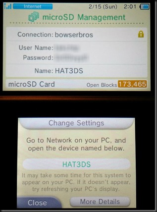 3DS SD Card Share